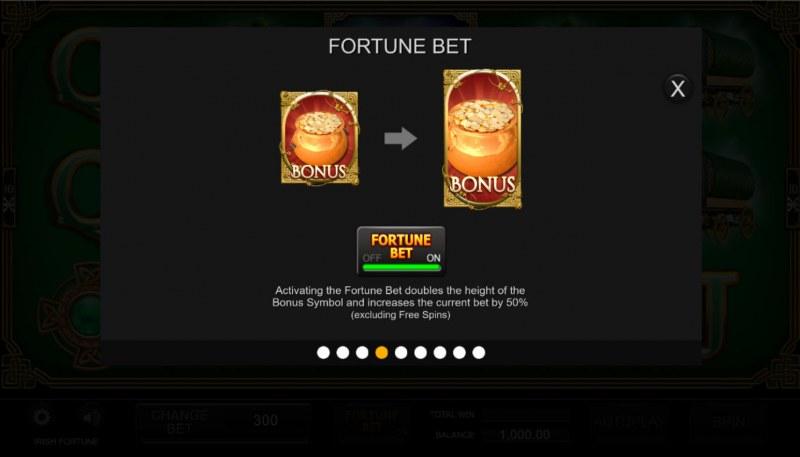 Irish Fortune :: Fortune Bet