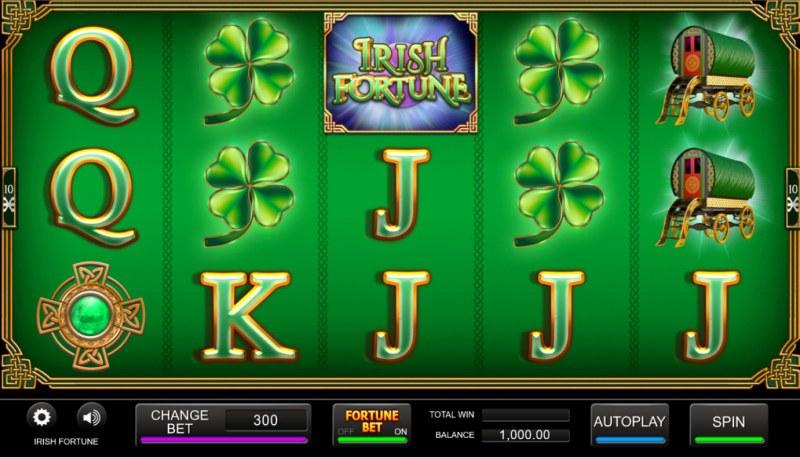 Irish Fortune :: Base Game Screen