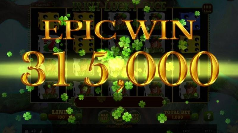 Irish Lucky Dice :: Epic Win