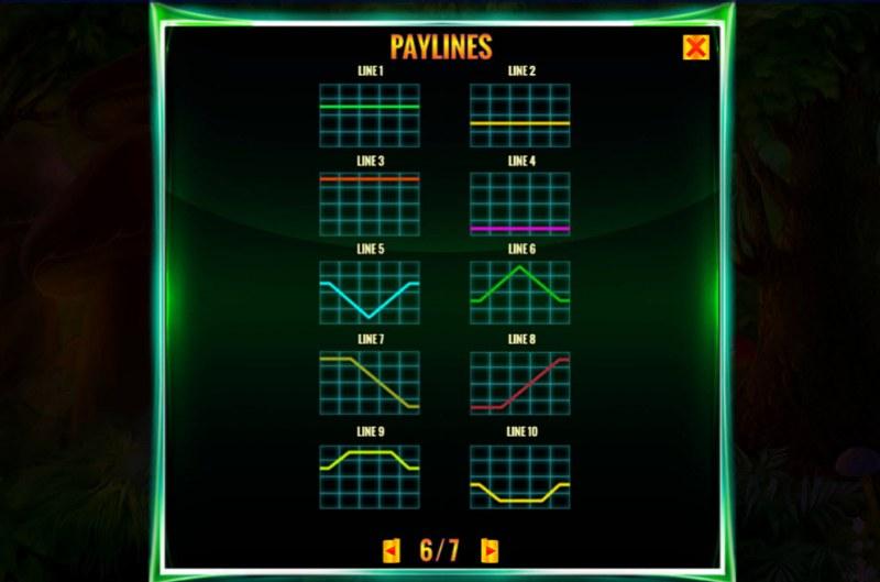 Irish Magic :: Paylines 1-10