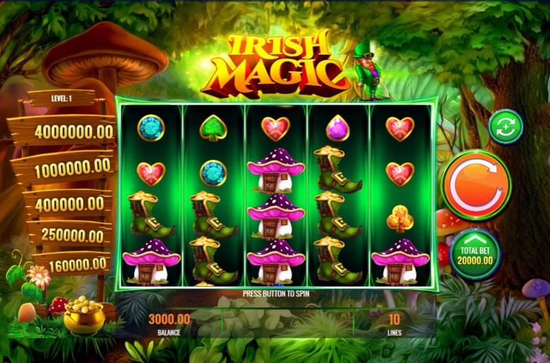 Irish Magic :: Main Game Board