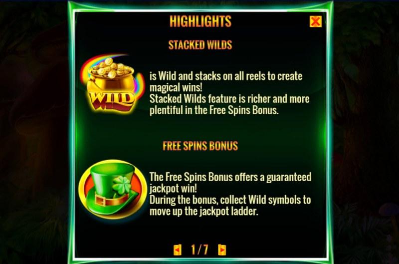 Irish Magic :: Wild and Scatter Rules