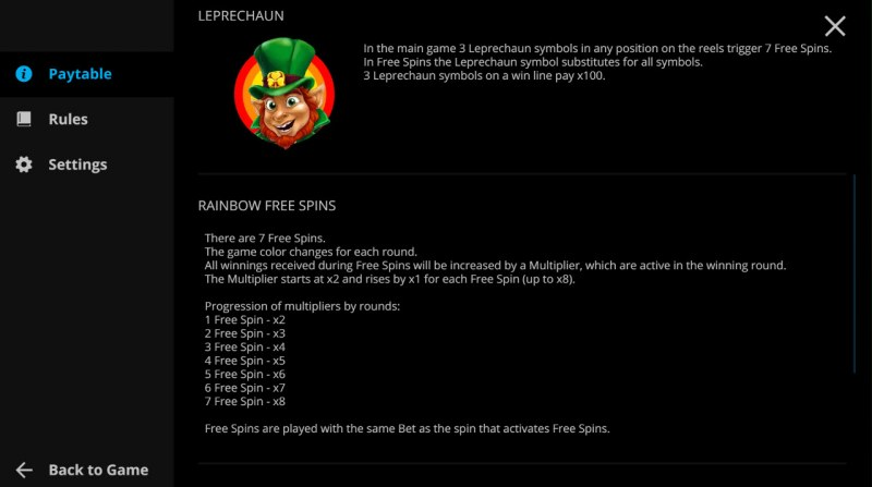 Irish Reels :: Feature Rules