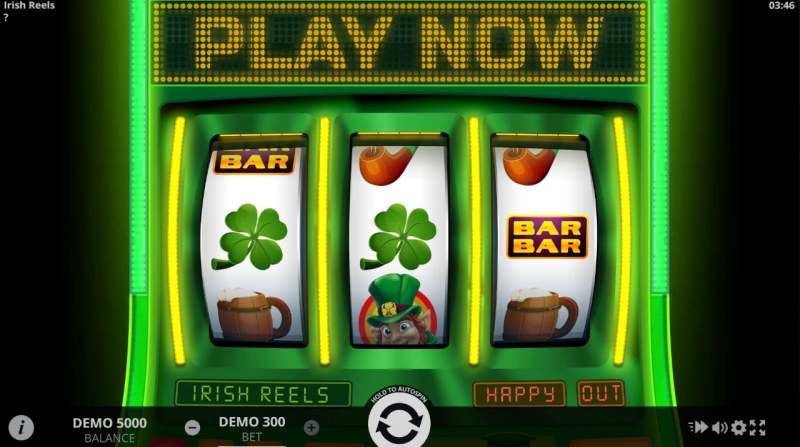 Irish Reels :: Main Game Board