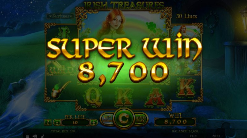 Irish Treasures :: Super Win
