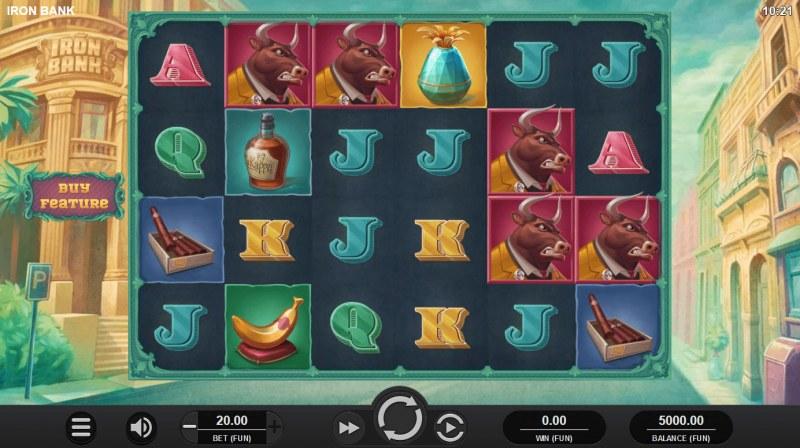 Iron Bank :: Main Game Board