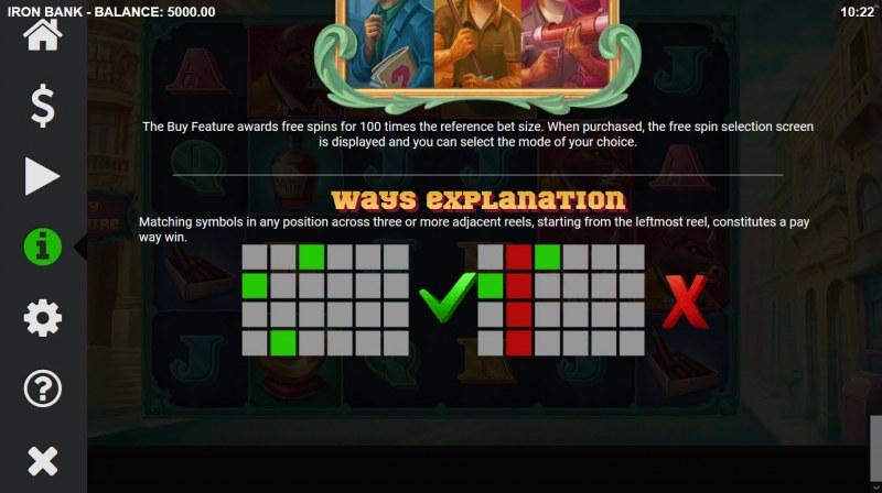 Iron Bank :: 4096 Ways to Win