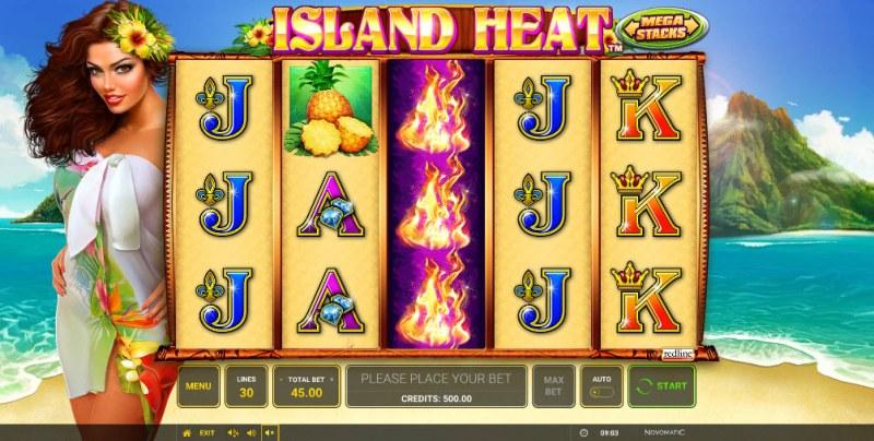 Island Heat :: Main Game Board