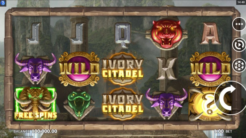 Ivory Citadel :: Main Game Board