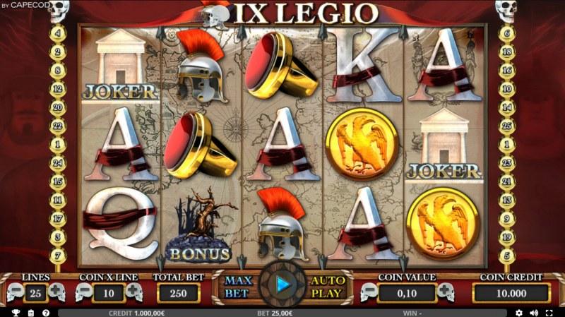 IX Legio :: Main Game Board