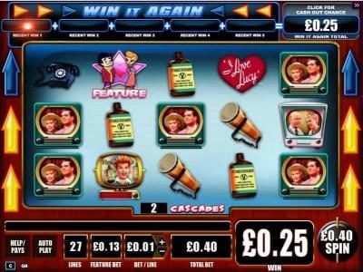Yako Casino featuring the Video Slots I Love Lucy with a maximum payout of $10,000