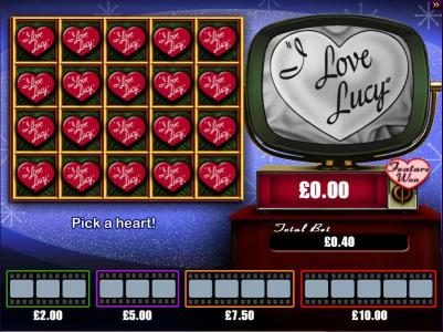 Play slots at Queen Vegas: Queen Vegas featuring the Video Slots I Love Lucy with a maximum payout of $10,000