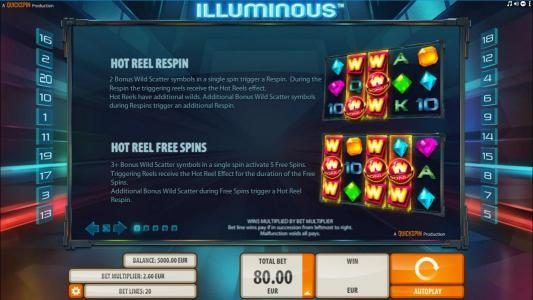 House of Jack featuring the Video Slots Illuminous with a maximum payout of $40,000