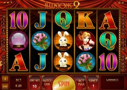 Play slots at Joe Fortune: Joe Fortune featuring the Video Slots Illusions 2 with a maximum payout of $200