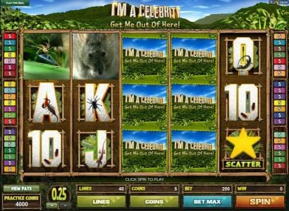 Play slots at Grand Mondial: Grand Mondial featuring the Video Slots I'M A Celebrity Get Me Out Of Here! with a maximum payout of $1,000