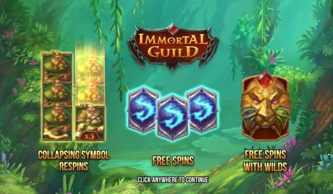 Play slots at Yoyo: Yoyo featuring the Video Slots Immortal Guild with a maximum payout of $200,000