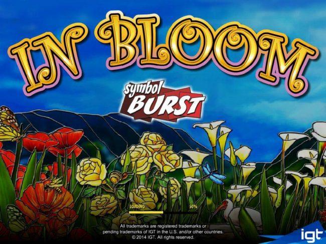 In Bloom :: Splash screen - game loading