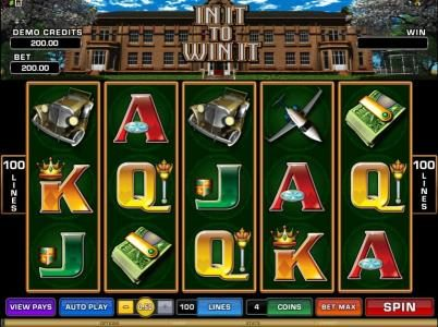 Play slots at Euro Bets: Euro Bets featuring the Video Slots In It To Win It with a maximum payout of $25,000