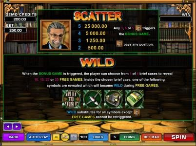 La Vida featuring the Video Slots In It To Win It with a maximum payout of $25,000