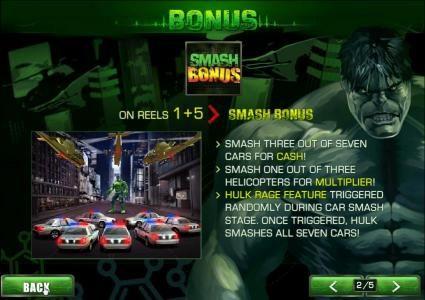 Play slots at Club Vulkan: Club Vulkan featuring the Video Slots The Incredible Hulk with a maximum payout of $80,000
