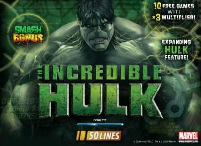 Play slots at Europa: Europa featuring the Video Slots The Incredible Hulk 50 Lines with a maximum payout of $40,000
