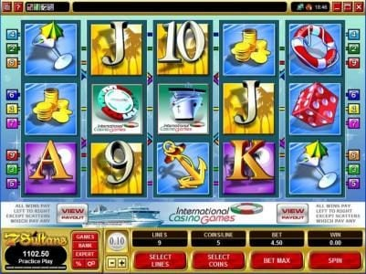 Play slots at Miami Dice: Miami Dice featuring the Video Slots International Casino with a maximum payout of $50,000