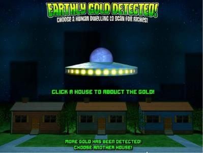 earthly gold detected - choose a human dwelling to scan for riches