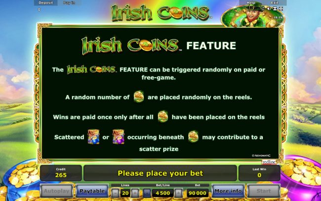 Irish Coins :: Feature Rules
