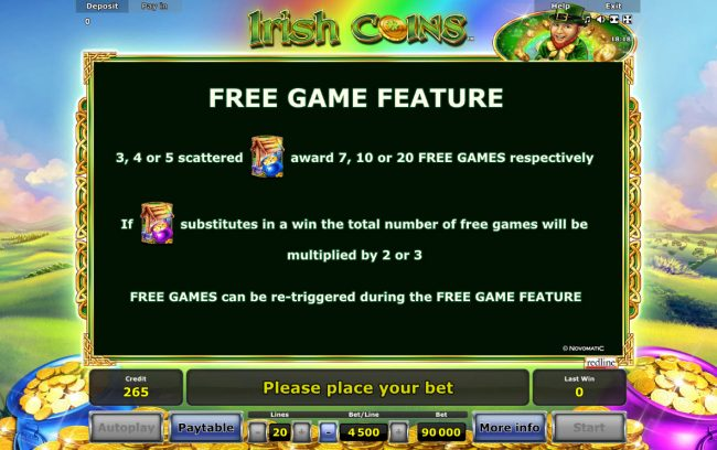 Irish Coins :: Free Game Rules
