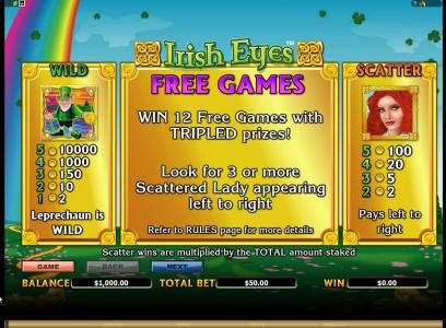 Cabaret Club featuring the Video Slots Irish Eyes with a maximum payout of $20,000