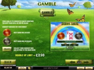Play slots at Casino.DK: Casino.DK featuring the Video Slots Irish Luck with a maximum payout of $500,000