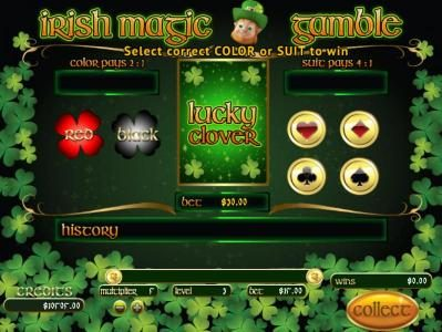 Mission 2 Game featuring the Video Slots Irish Magic with a maximum payout of