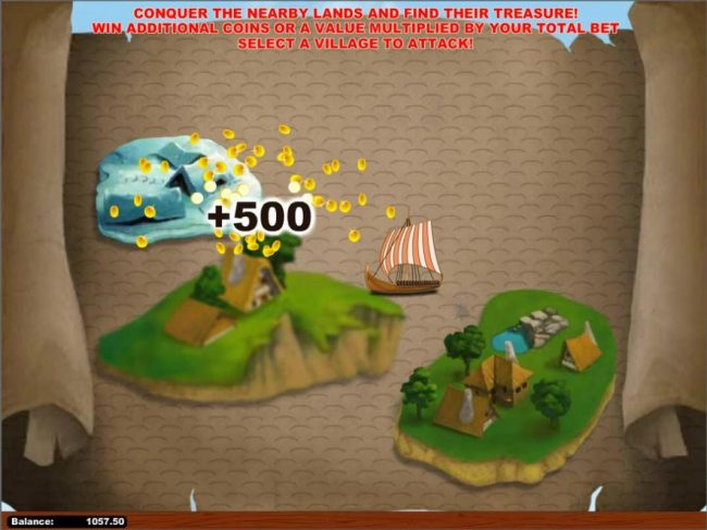 Tangiers featuring the Video Slots Iron Vikings with a maximum payout of $250,000
