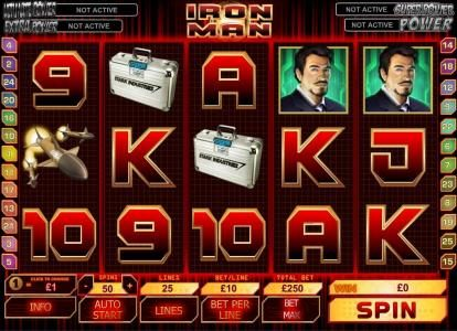 Play slots at Giant Vegas: Giant Vegas featuring the Video Slots Iron Man with a maximum payout of $50,000