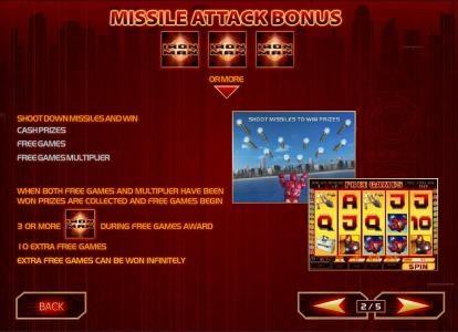 Iron Man :: three or more iron man symbols anywhere triggers missle attack bonus