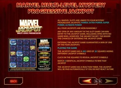 Europa featuring the Video Slots Iron Man with a maximum payout of $50,000
