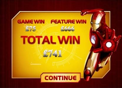 Chips Palace featuring the Video Slots Iron Man with a maximum payout of $50,000