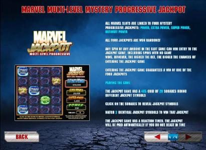 Iron Man 2 - 50 Lines :: Marvel multi-level mystery progressive jackpot