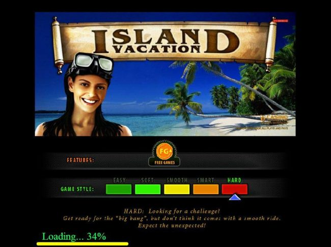 Play slots at 21 Nova: 21 Nova featuring the Video Slots Island Vacation with a maximum payout of $300,000