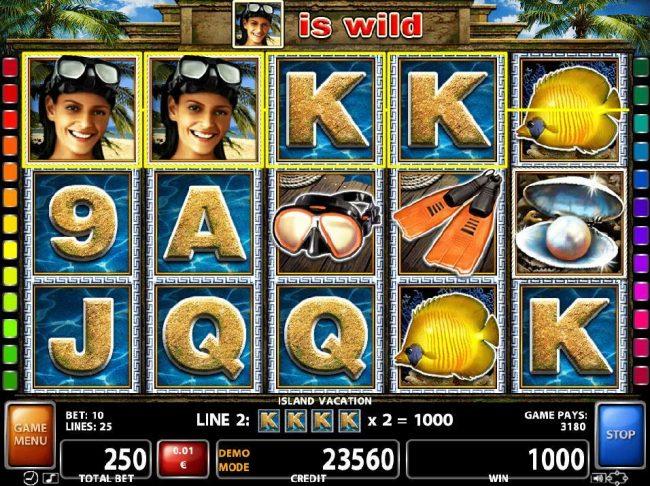 Island resort online slots