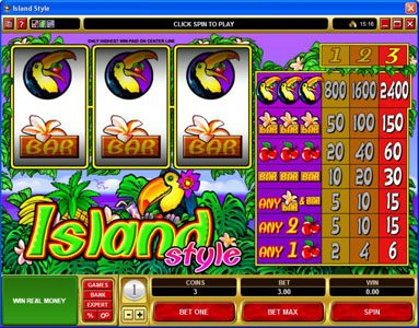 Play slots at Lucky Dino: Lucky Dino featuring the Video Slots Island Style with a maximum payout of $36,000