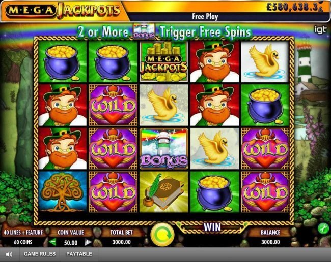 Zinger Spins featuring the Video Slots Isle of Plenty with a maximum payout of Jackpot