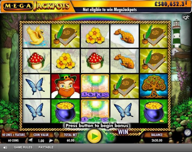 Winstar featuring the Video Slots Isle of Plenty with a maximum payout of Jackpot
