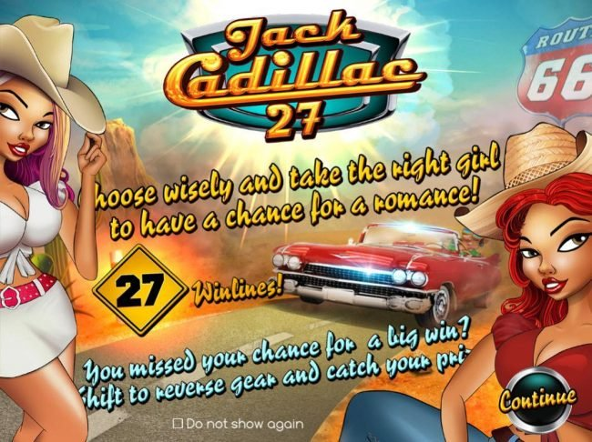 Play slots at Montecryptos: Montecryptos featuring the Video Slots Jack Cadillac 27 with a maximum payout of $12,000