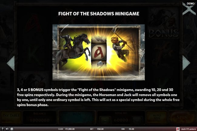 Fight of the Shadows Minigame