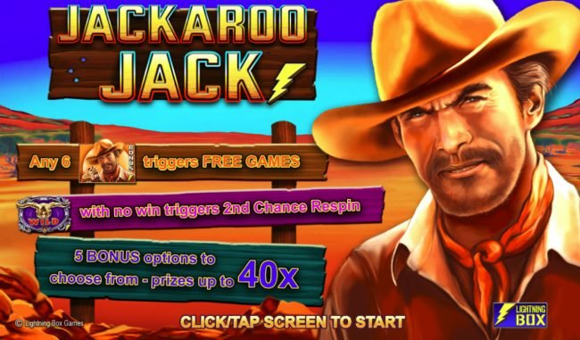 Play slots at Secret Slots: Secret Slots featuring the Video Slots Jackaroo Jack with a maximum payout of $61,440