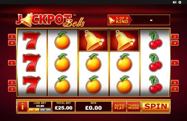 Play slots at William Hill Casino Club: William Hill Casino Club featuring the Video Slots Jackpot Bells with a maximum payout of $37,500