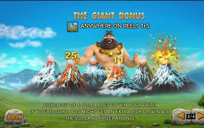 Jackpot Giant :: Bonus Game Rules