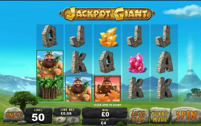 Jackpot Giant :: Main Game Board