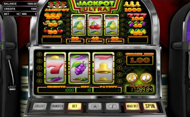 Llama Casino featuring the Video Slots Jackpot Ultra with a maximum payout of Jackpot